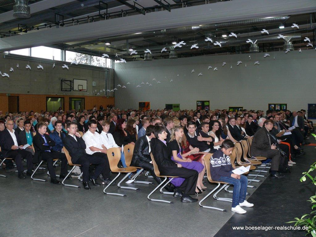 Abschlussfeier der Boeselager-Realschule Ahrweiler 2013